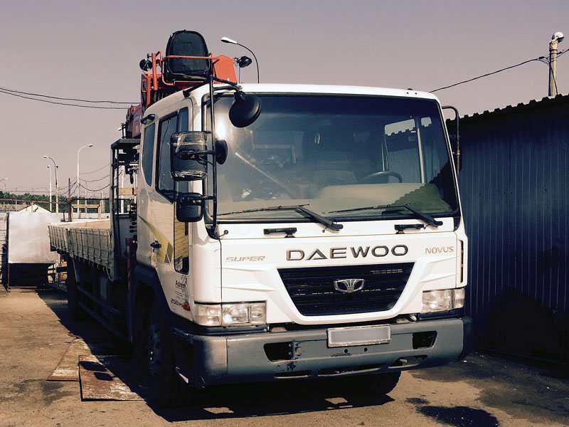 Манипулятор Daewoo Novus (Kanglim KS 2056)
