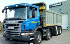 Самосвал Scania P380 CB8X4EHZ